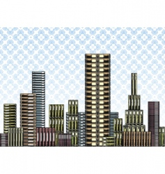 book city vector image vector image