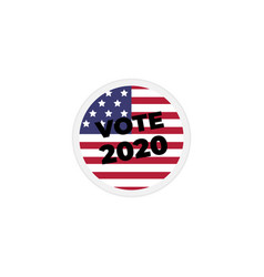 2020 united states america presidential vector image