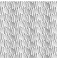 abstract gray hexagon background vector image