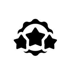 award star icon vector image