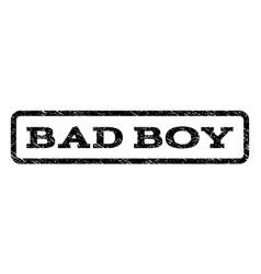 Bad boy watermark stamp vector