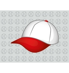 Baseball hat cap vector