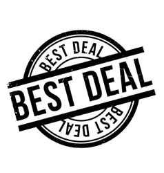 Best Deal rubber stamp vector