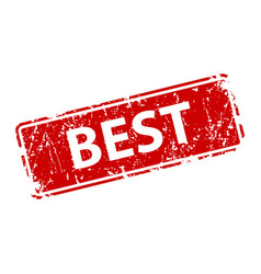 best stamp texture rubber cliche imprint web or vector image
