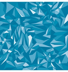 Blue triangle background vector image
