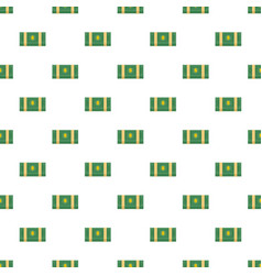 dollar pack pattern seamless vector image