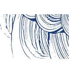 Grunge texture distress indigo rough trace delig vector
