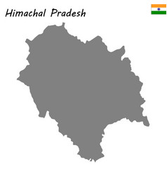 map of state of india vector image
