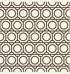 Modern blackwhite abstract seamless repetition vector