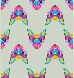Pattern new neon retrowave vaporwave synthwave vector