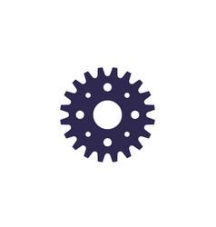 sprocket icon on white vector image
