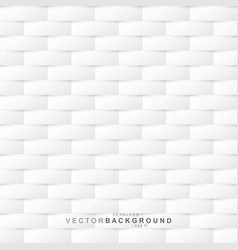 white seamless decorative cut texture - paper vector image