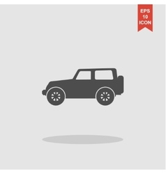 suv Icon concept for design vector image