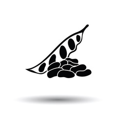 Beans icon vector image vector image