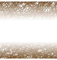 Abstract Brown Line Background vector image