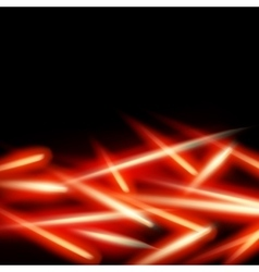 Abstract fire light background EPS 10 vector image