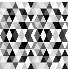 Black and white abstract geometry pattern vector