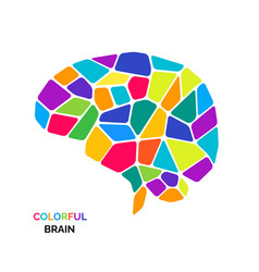 bright and colorful bain logo vector image