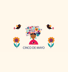 cinco de mayo design vector image