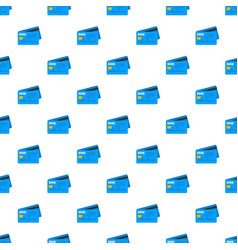credit card pattern seamless vector image