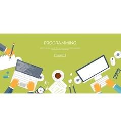 Flat header Programming and vector