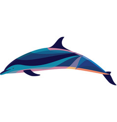 Gary the bottlenose dolphin vector