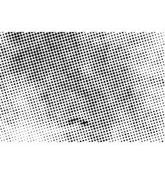 halftone grunge overlay vector image