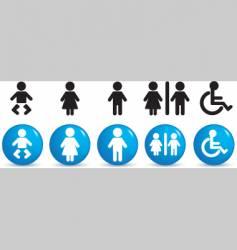 People symbols vector