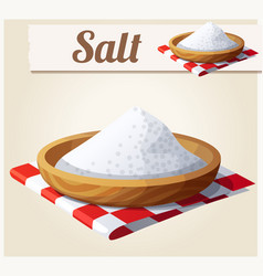 Salt detailed icon vector