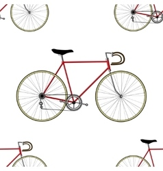 Vintage Bicycle Seamless Pattern vector