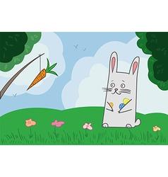 Bunny hunting vector