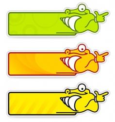 snail sticker vector image vector image