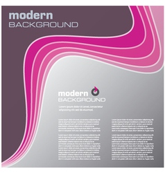 pink modern background vector image