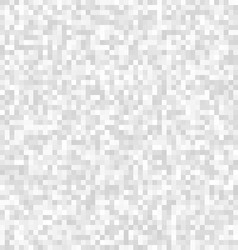 Abstract gray pixelated background vector image vector image