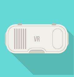 virtual reality headset vr technology glasses vector image