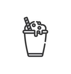 cocoa icon vector image