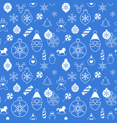 Digital white blue happy vector