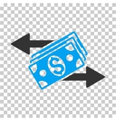 Dollar Banknotes Payments Icon vector