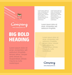 fires business company poster template with place vector image