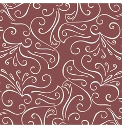 Luxury background with vintage pattern vector
