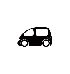 mini car icon element of popular car icon vector image