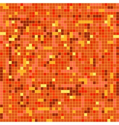 Red tile vector image vector image