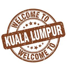 Welcome to kuala lumpur vector