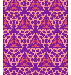 psychedelic abstract colorful violet red cream vector image