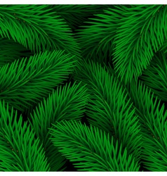 Elegant Christmas background seamless from green vector image vector image