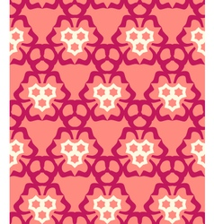 psychedelic abstract colorful red cream pink vector image vector image