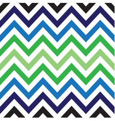 colorful chevron retro decorative pattern vector image