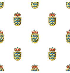 Emblem single icon in cartoon styleemblem vector