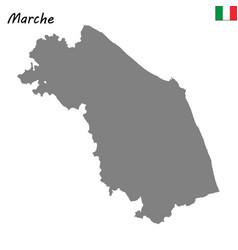 Map region italy vector