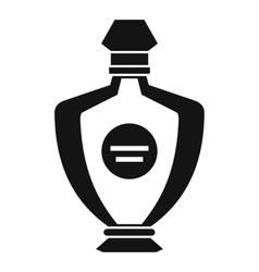 Perfume icon simple style vector